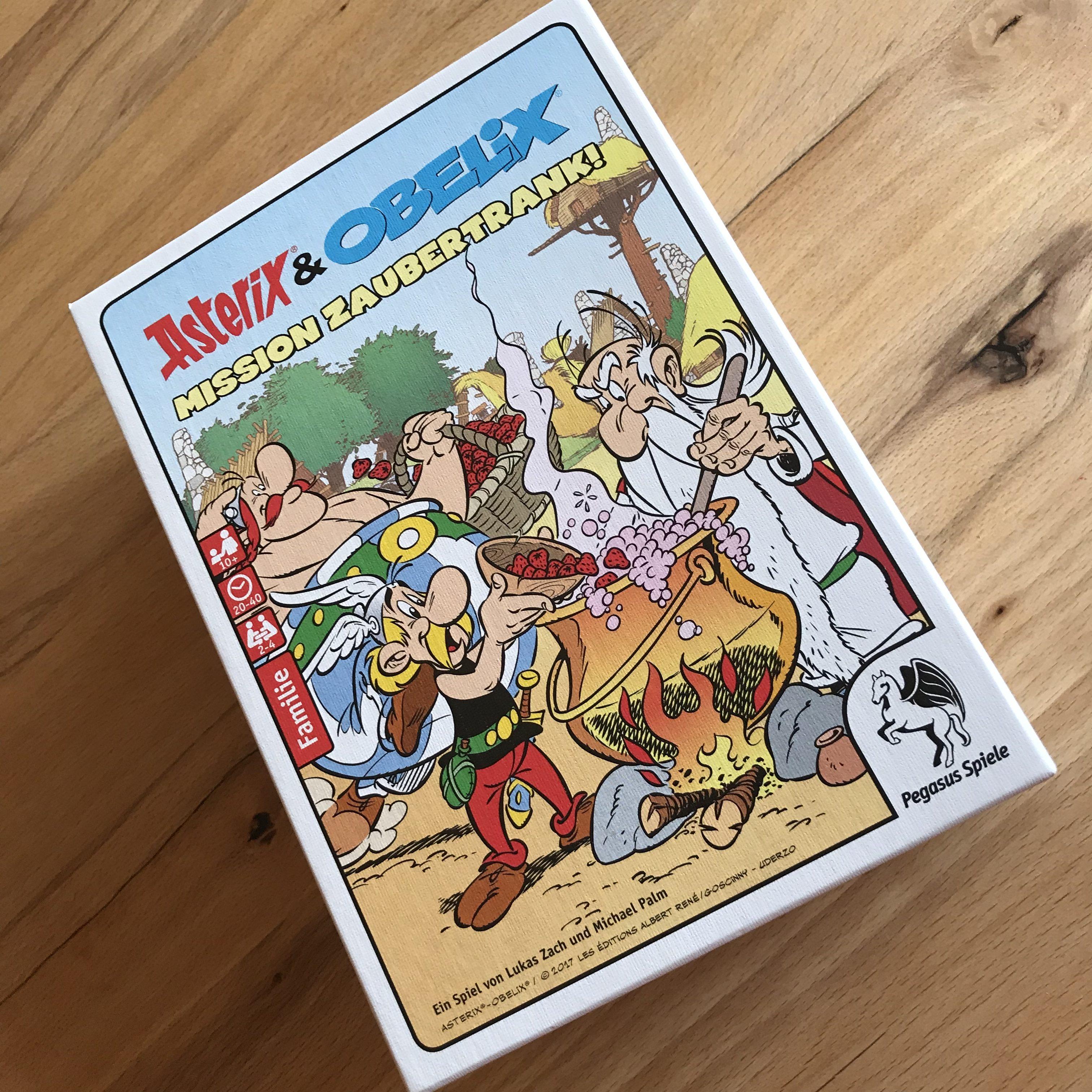 Schachtel Asterix & Obelix - Mission Zaubertrank von Pegasus Spiele