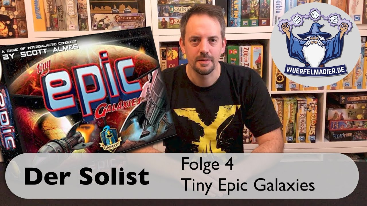 Würfelmagier Wuerfelmagier Der Solist Tiny Epic Galaxies