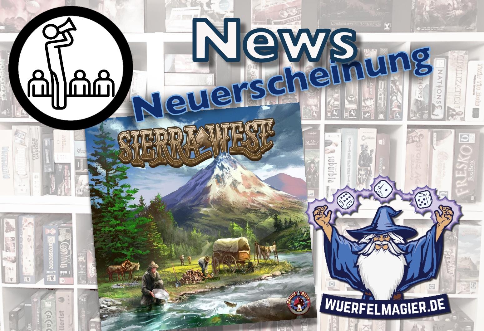 Sierra West Board and Dice News Neuerscheinung Wuerfelmagier Würfelmagier