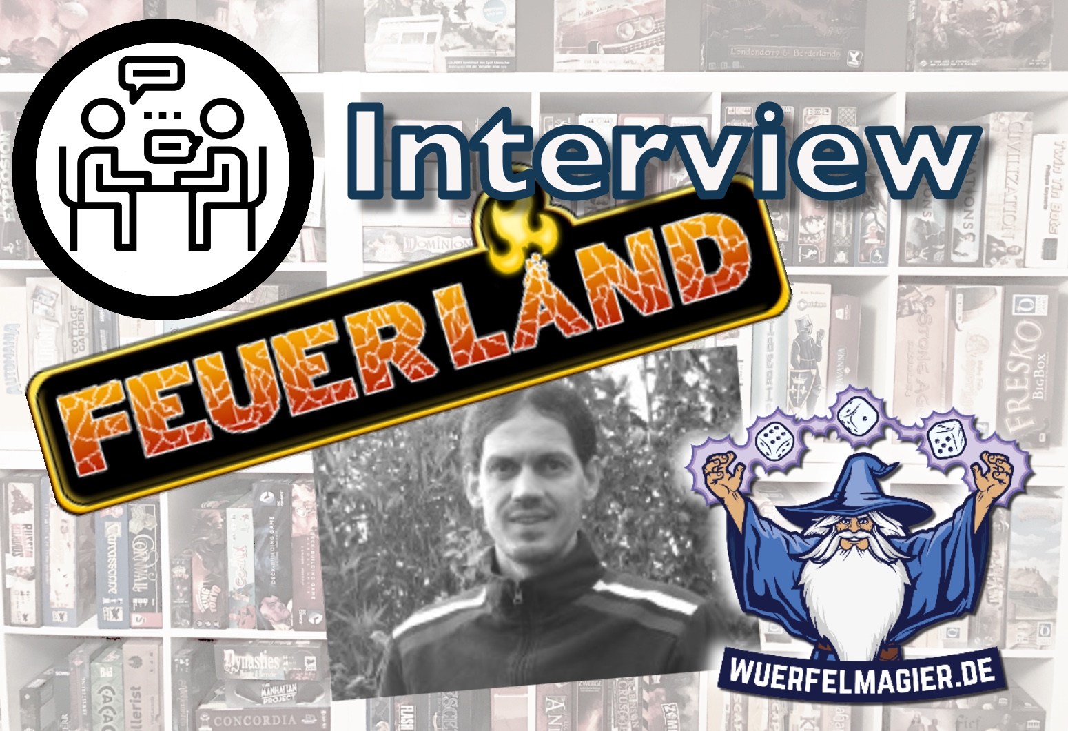 Interview Frank Heeren Feuerland Spiele Wuerfelmagier Würfelmagier