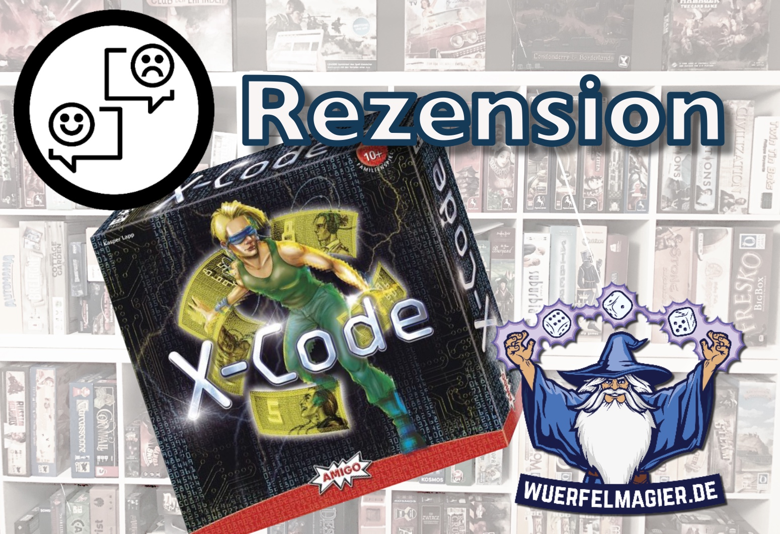 Rezension X-Code Amigo