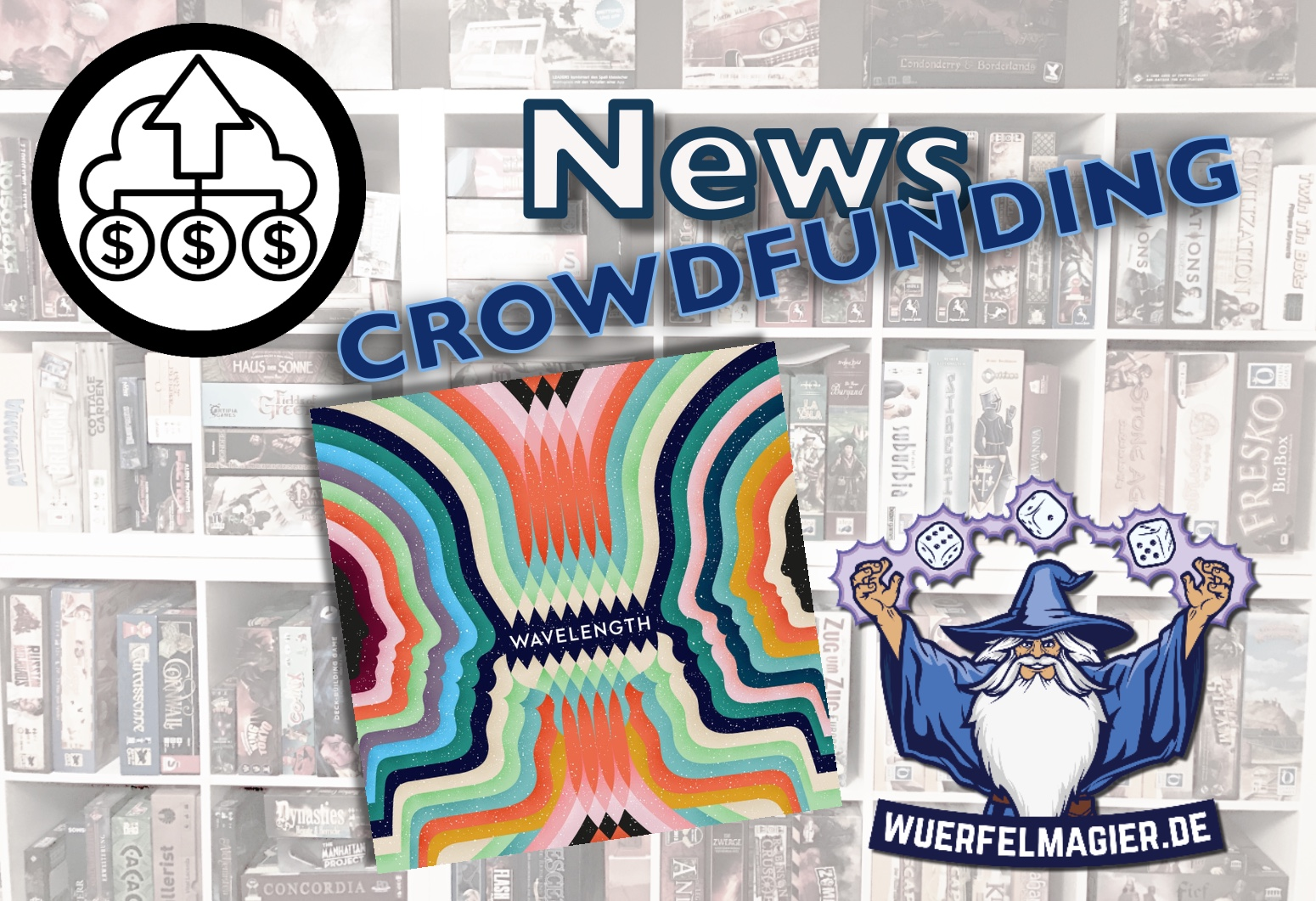 Wuerfelmagier Würfelmagier Crowdfunding News Wavelength Woflgang Warsch