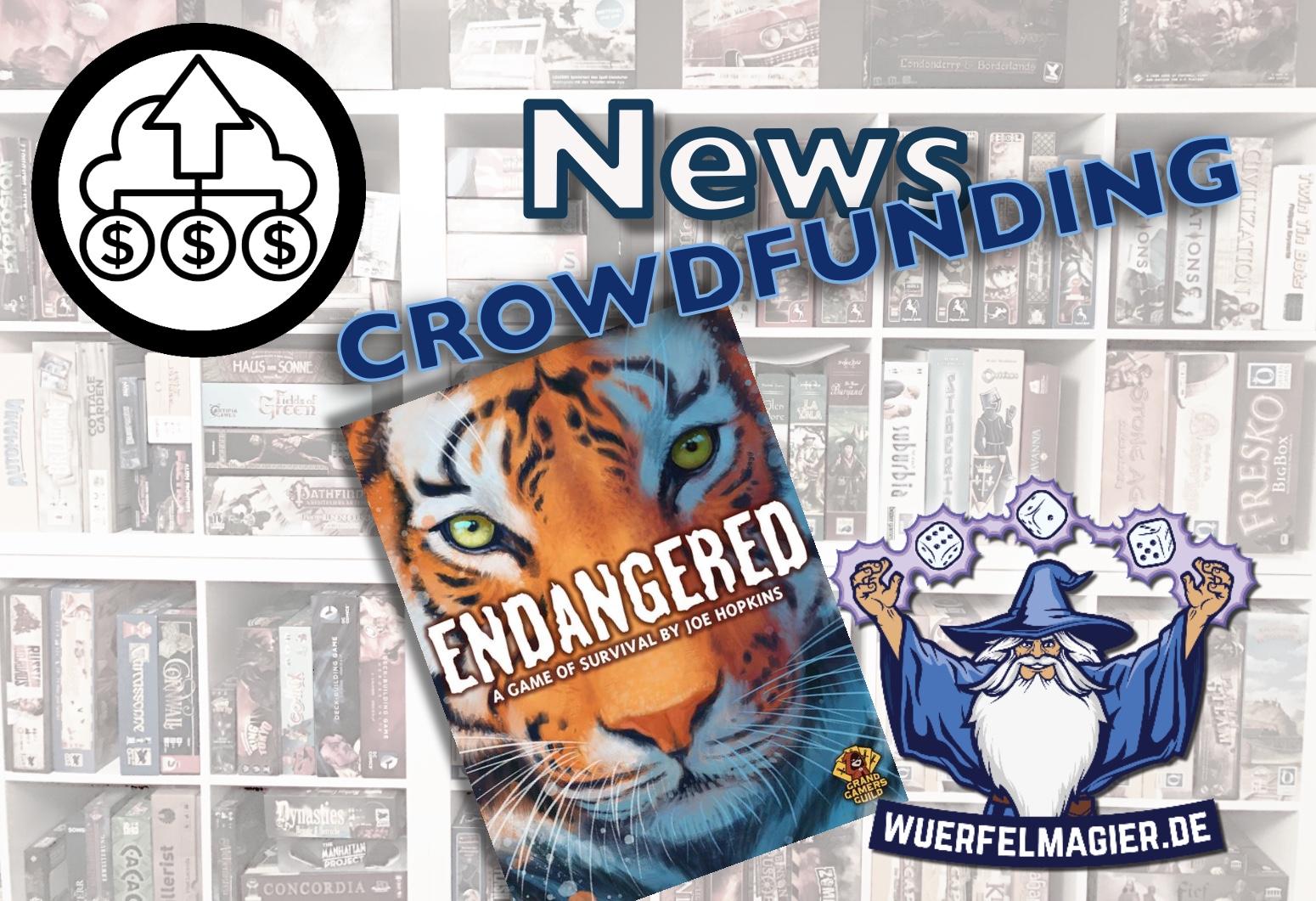 News Corwdfunding Kickstarter Endangered Wuerfelmagier Würfelmagier