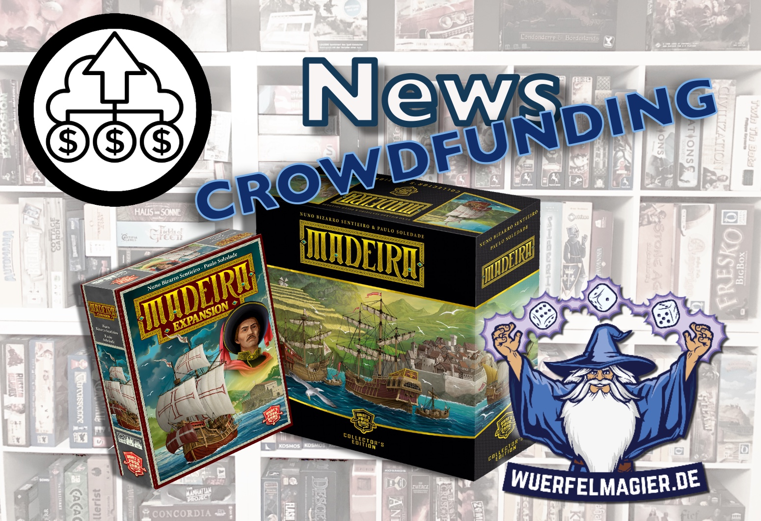 Madeira Collectors Edition News Kickstarter Crowdfunding